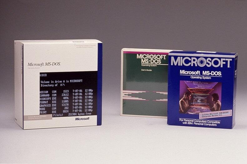 Código do MS-DOS