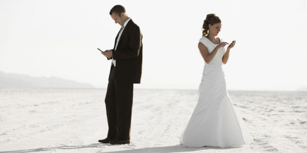Twitar em casamentos