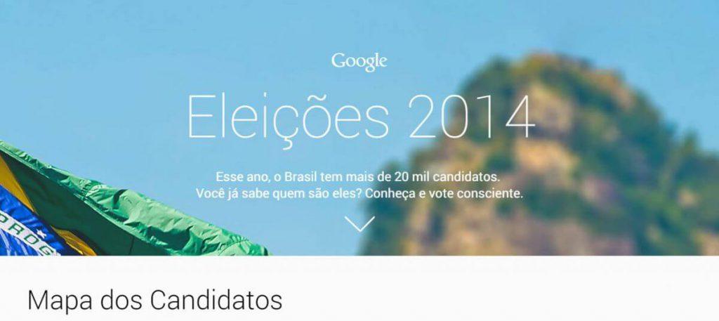 Google dá uma forcinha nas eleições