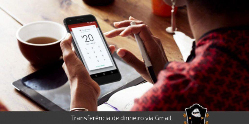 Transferencia dinheiro gmail
