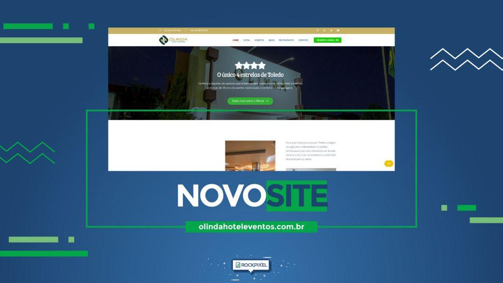 O site para hospedar todo o glamour do Olinda Hotel e Eventos
