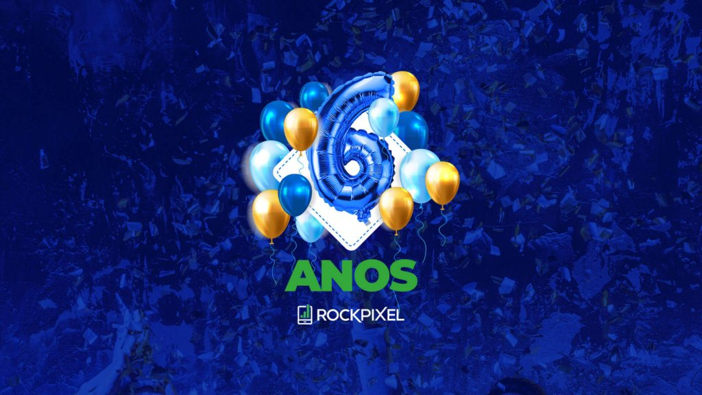 6 anos de Rock Pixel Marketing Digital