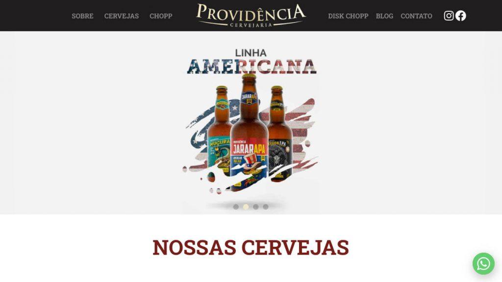 Visite o site da Cervejaria Providência