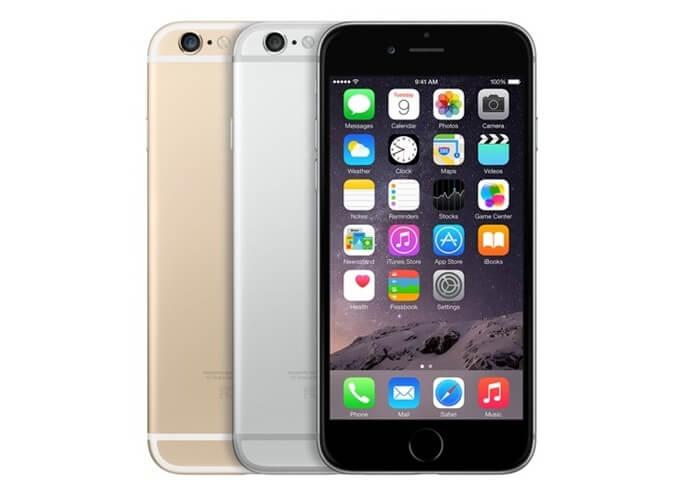 Em 2014 a Apple estava lançando o iPhone 6 para se ter uma ideia