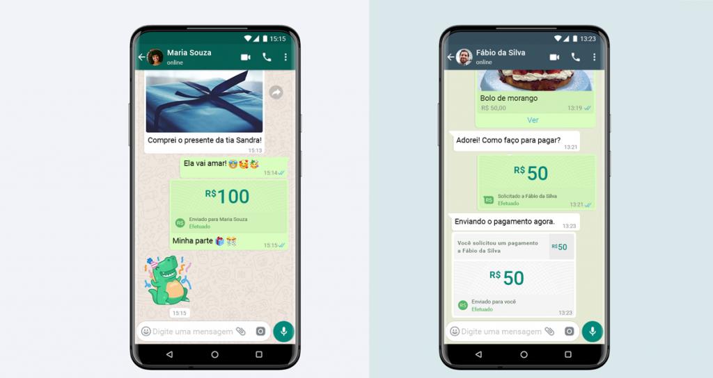WhatsApp libera função para pagamento dentro do app