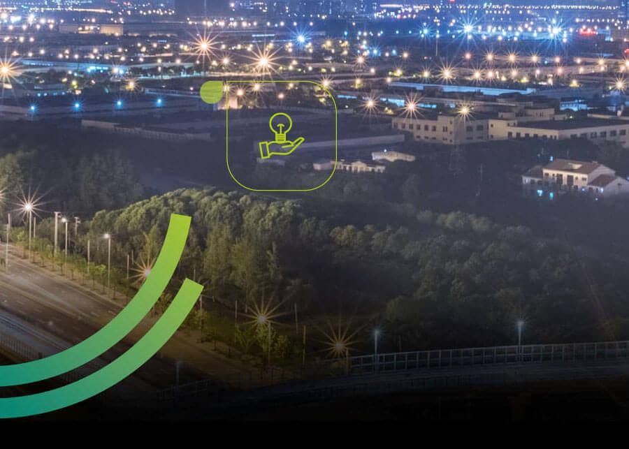 A Smart Green é uma empresa de automação e gestão de iluminação pública